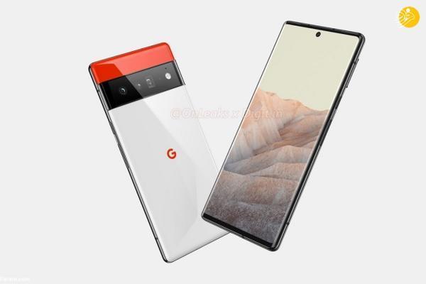 طراحی منحصر بفرد گوشی گوگل پیکسل 6 پرو